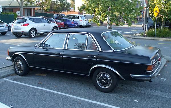 Black Mercedes 230E