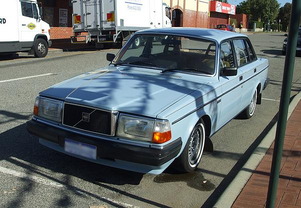 Volvo 240GL. Not going to Valhalla.
