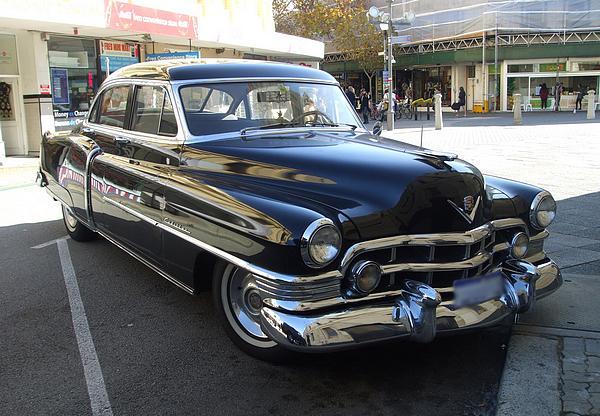 Black 1952 Cadillac