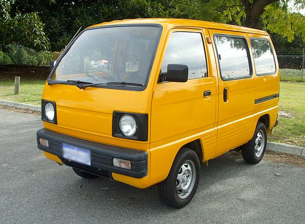 Suzuki Mini Van Modified