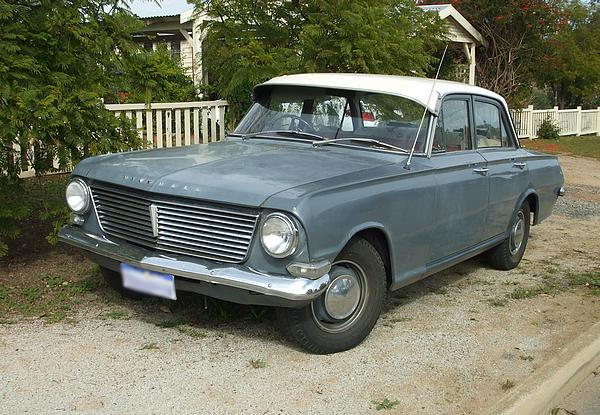 Vauxhall Velox PB in dark grey