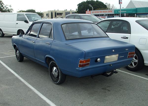 Blue Holden HB Torana SL