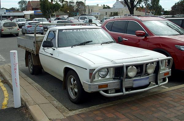 White Holden HX One Tonner
