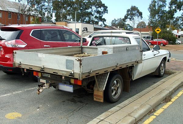 White Holden HX One Tonner