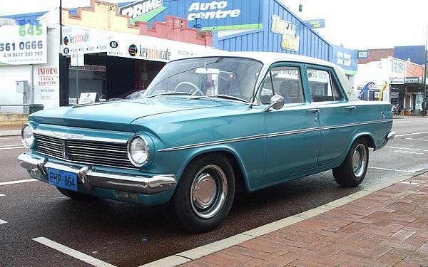 Blue Holden EH Premier