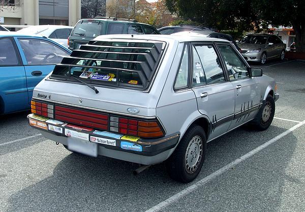 Silver Ford KB Laser Ghia 1.5