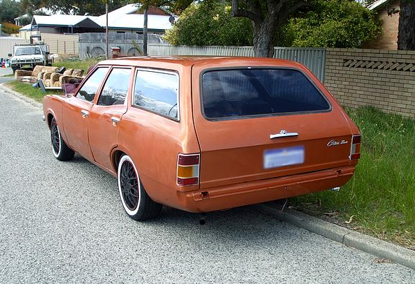 Orange Cortina TC Wagon.