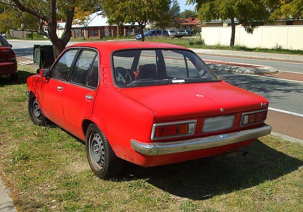 Red Holden TD Gemini