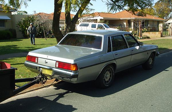 Silver 1980 Holden WB Statesman Caprice