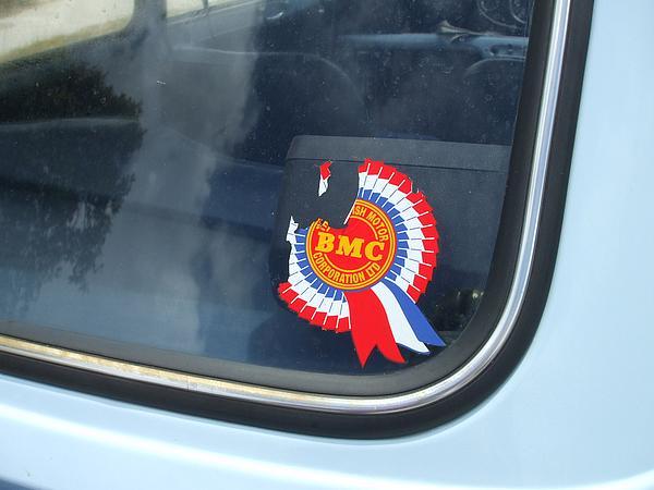 British Motor Corporation (BMC) Sticker