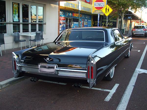 Black 1966 Cadillac DeVille