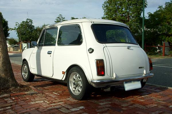 White Leyland Mini Clubman