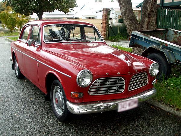1966 Red Volvo 122